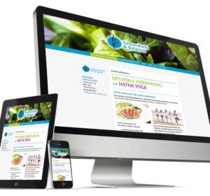 <span>Gesundheit und Balance: Website</span><i>→</i>