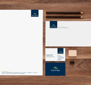 <span>FRIPOO: Corporate Design</span><i>→</i>